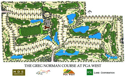The Greg Norman Course at PGA West